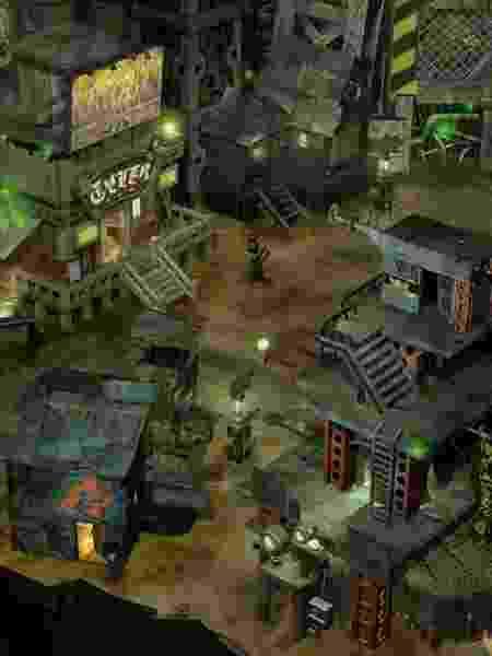 Final fantasy Midgar Slums 7 - Reprodução - Reprodução