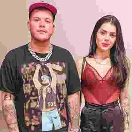 Thais Vasconcellos, mulher de Ferrugem, compartilhou nas redes sociais uma briga que teve com o cantor - Reprodução/Instagram