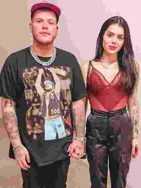 Ferrugem e a mulher Thais Vasconcellos - Reprodução/Instagram