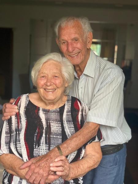 Nair e Nelson são casados há 67 anos - Arquivo pessoal