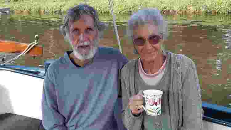 Ron e Fiona nos dias de hoje - Arquivo pessoal - Arquivo pessoal