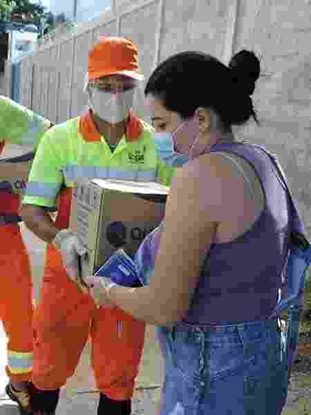Coletores arrecadam cestas básicas - Divulgação - Divulgação
