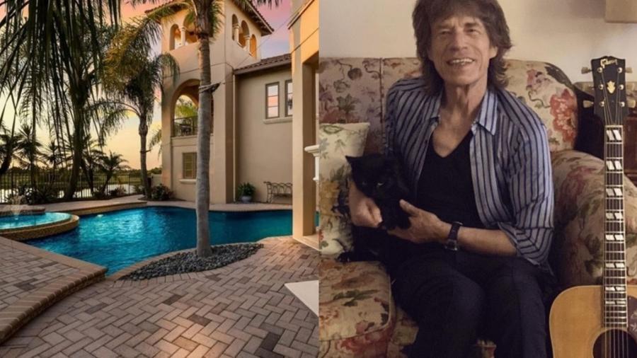 Mick Jagger compra mansão para passar tempo com família durante turnê - Reprodução/Instagram e Realtor