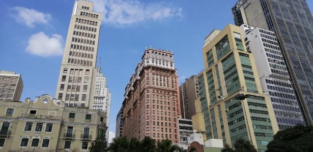 Edifício Martinelli - Rafael Roncato/UOL/Foto tirada com o LG G4