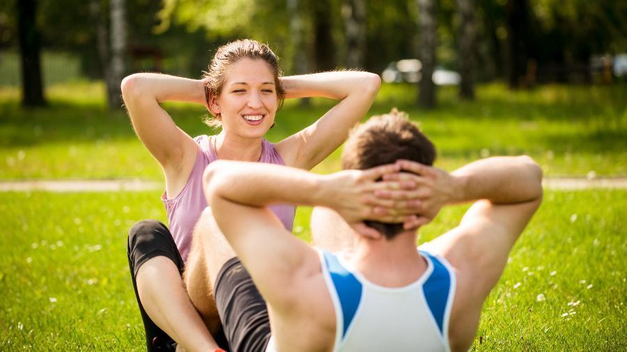 Vinícius Possebon acredita que muitos casais encontram nos exercícios físicos uma forma de deixar a relação mais emocionante - iStock