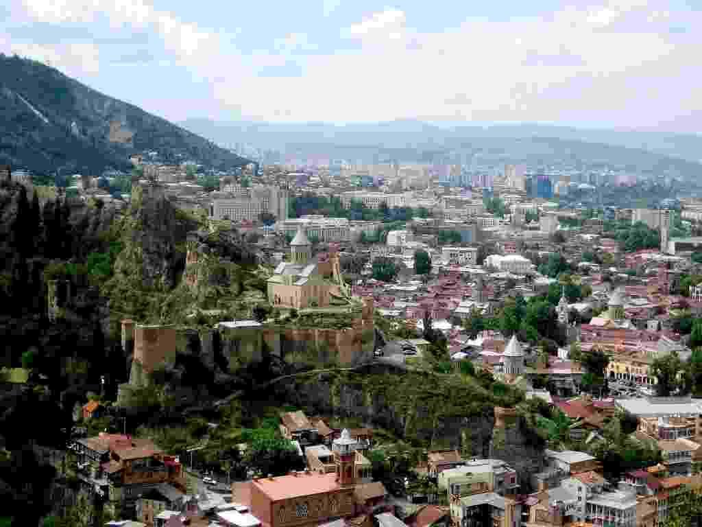 Cidade de Tbilisi, na Geórgia - Nino Ozbetelashvili/Creative Commons