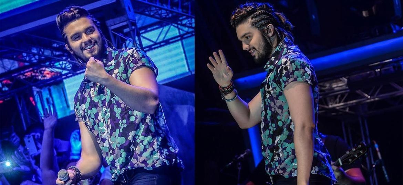 Luan Santana adota novo visual com cabelos longos e trancinhas - Francisco Cepeda/Ag.News