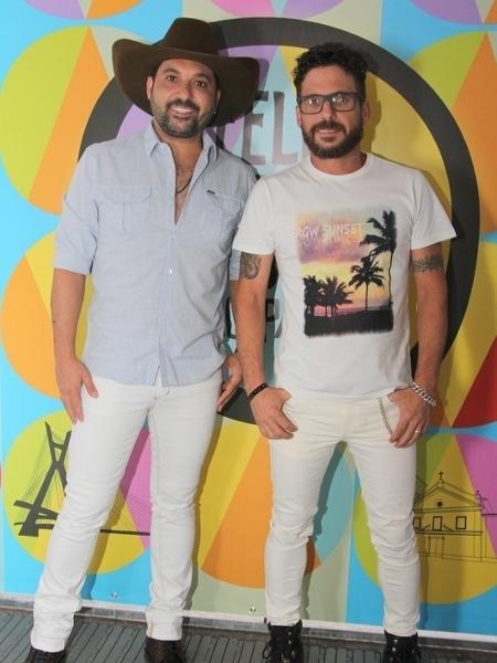 Edson e Hudson relembraram a separação temporária da dupla - Renan Katayama/AgNews