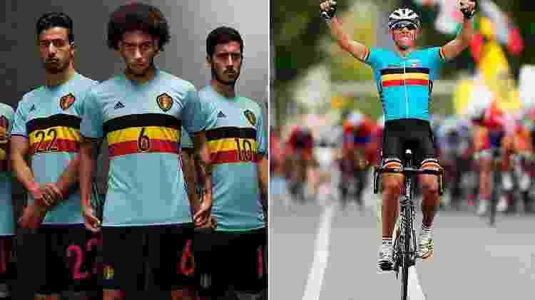 Divulgação e Reprodução/Facebook/Belgian Cycling
