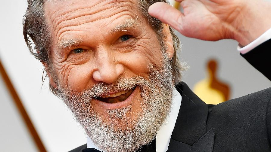 """Jeff Bridges na cerimônia do Oscar 2017, onde foi indicado como melhor ator coadjuvante por seu papel em """"A Qualquer Custo"""" - Frazer Harrison/Getty Images"""