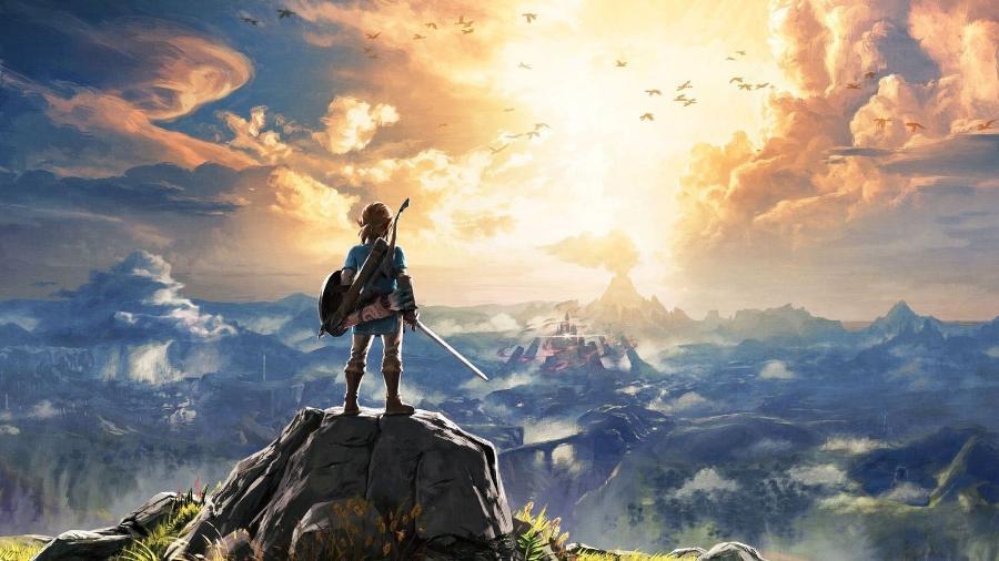 """Lançado no início de 2017, """"The Legend of Zelda: Breath of the Wild"""" trouxe mais do que uma boa história, mas também um número de detalhes absurdo - Divulgação/Nintendo"""