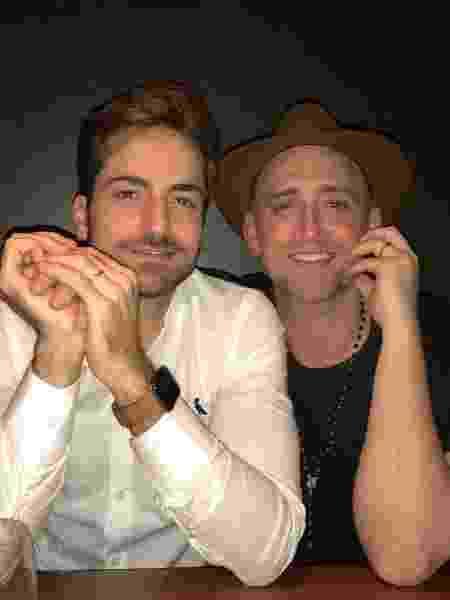 Paulo Gustavo e o marido Thales Breta - Reprodução/Instagram