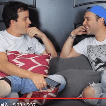Rafael Cortez é entrevistado por Matheus Mazzafera - Reprodução/YouTube