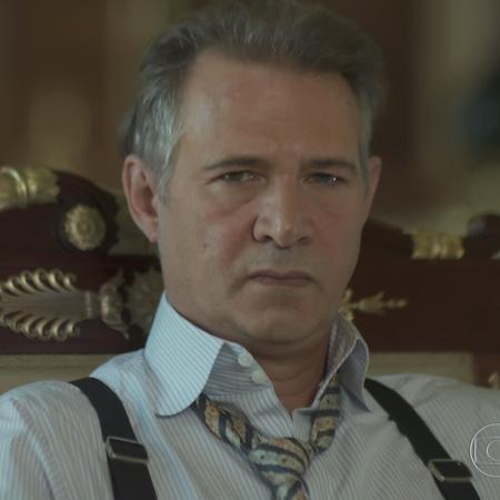 """Nelson Freitas interpreta Bernardo em """"Tempo de Amar"""", novela das seis da Globo - Reprodução/TV Globo"""