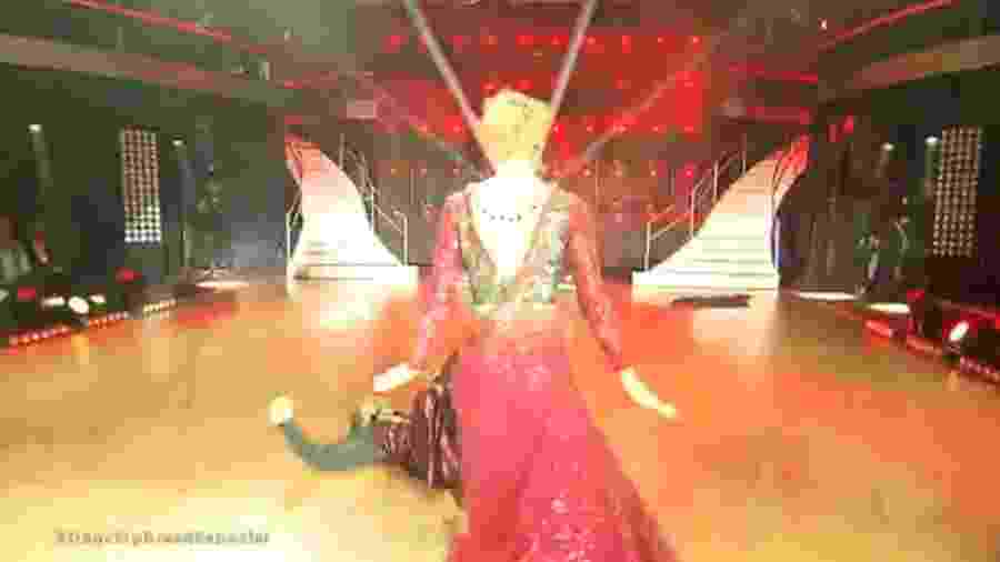 "Marcos Mion leva tombo no ""Dancing Brasil"", e Xuxa culpa ""praga do Yudi"" - Reprodução/TV Record"