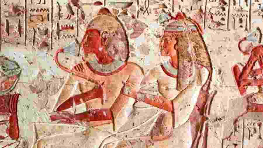 Civilização nascida 3 mil anos antes de Cristo, egípcios tinham menos tabus do que as gerações modernas sobre as relações íntimas  - Getty Images