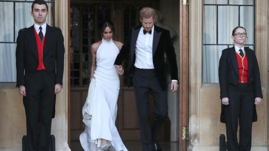 Harry e Meghan casamento - Getty Images