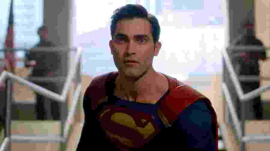"""Tyler Hoechlin como Superman em """"Supergirl"""" - Reprodução"""