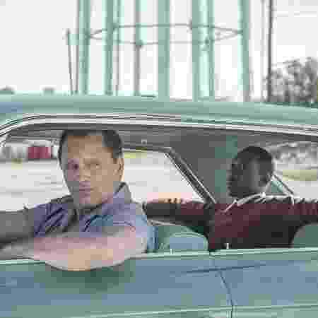 """Viggo Mortensen e Mahershala Ali em cena de """"Green Book"""" - Divulgação - Divulgação"""