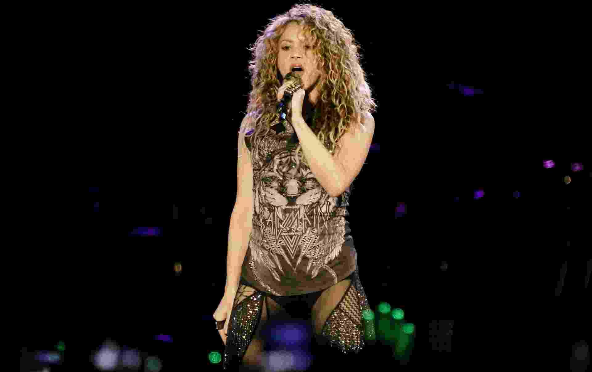 Shakira faz show no estádio Allianz Parque, em São Paulo - Mariana Pekin/UOL