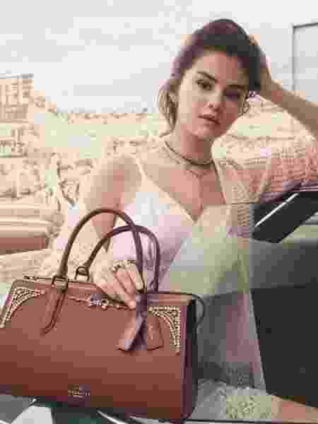 Selena Gomez para a Coach - Divugação