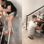 Simone e o marido montaram juntinhos o pinheiro gigante de sua casa - Reprodução/Instagram