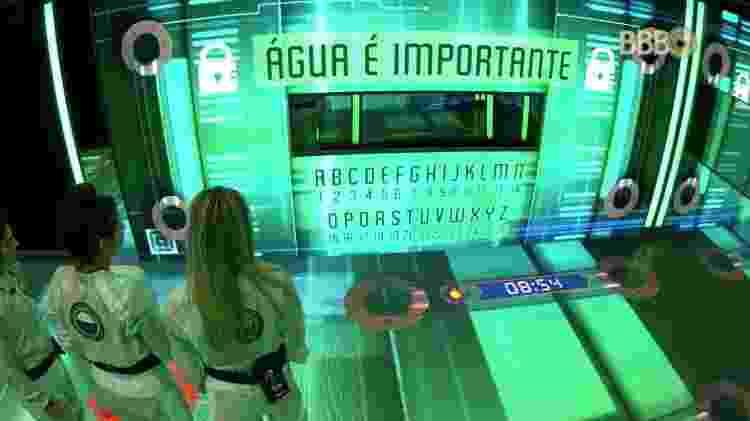 Terceiro desafio - Reprodução/GloboPlay - Reprodução/GloboPlay