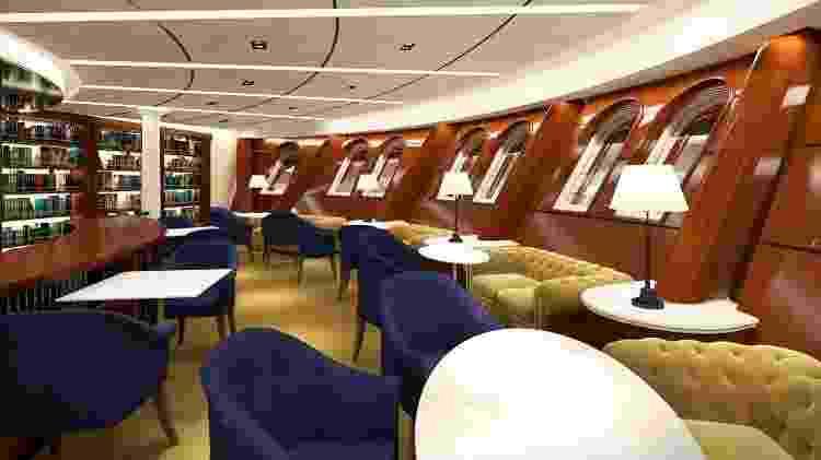 Projeção do interior do veleiro Flying Clipper - Divulgação/Star Clippers - Divulgação/Star Clippers