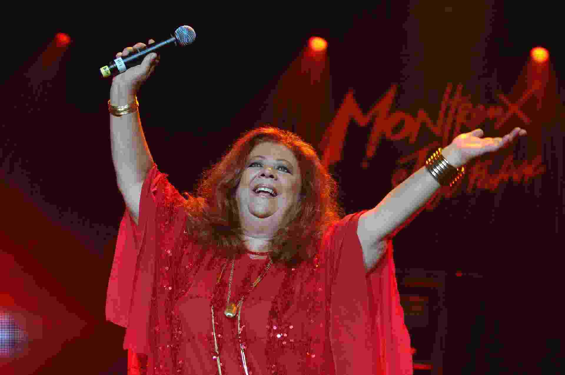 Beth Carvalho se apresentou no Montreux Jazz Festival, na Suíça, em julho de 2007 - Lionel FLUSIN/Gamma-Rapho via Getty Images