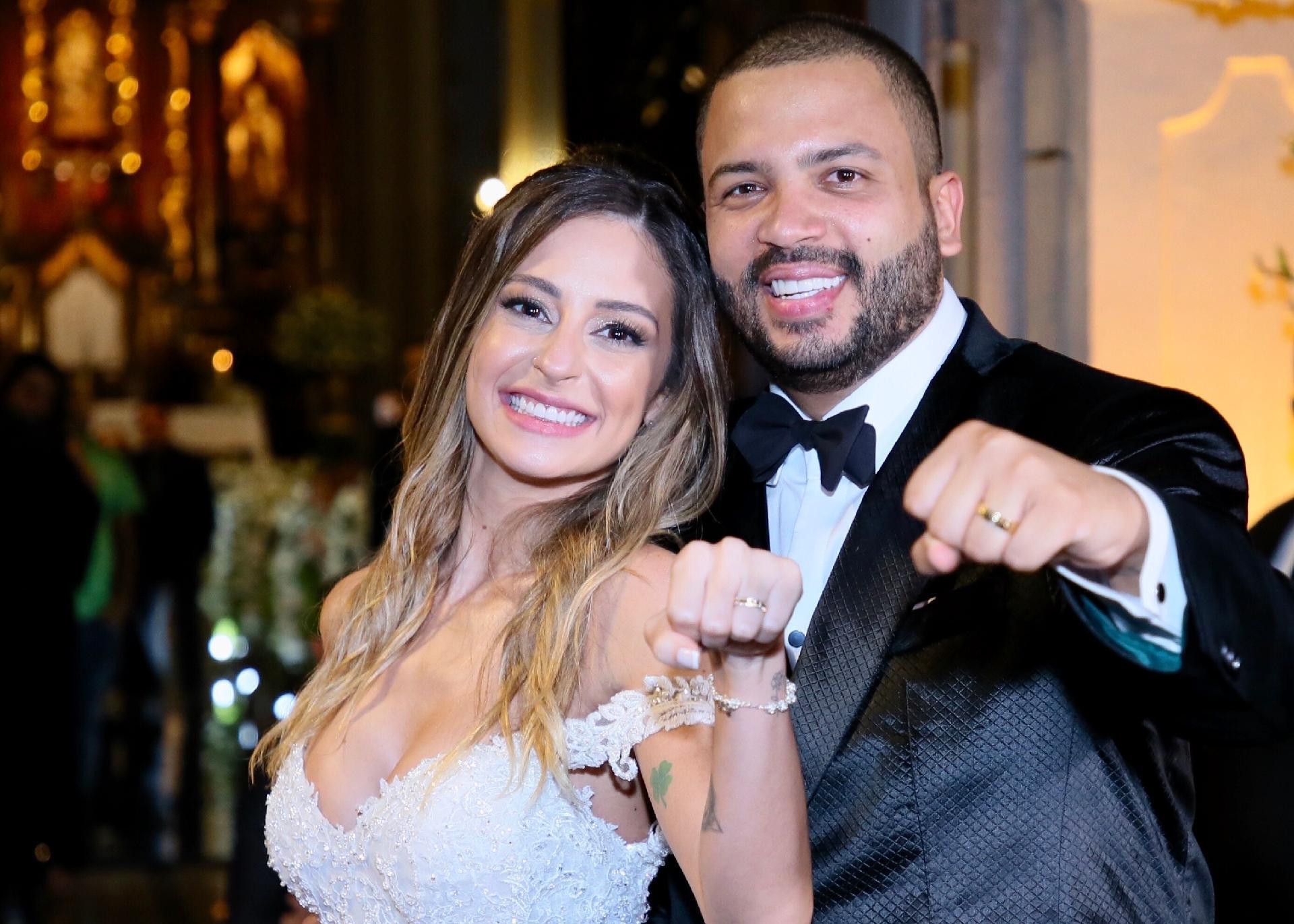 Projota se casa com Tamy Contro -  Manuela Scarpa/Brazil News