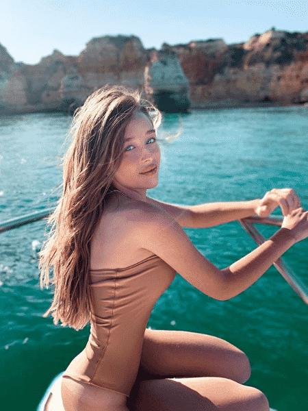 Duda Reis é acusada de mexer no corpo em foto - Reprodução/Instagram