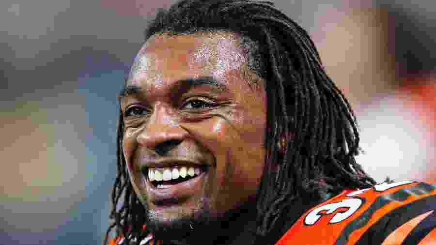 Cedric Benson em ação na NFL; ex-jogador morreu nesse sábado - Getty Images