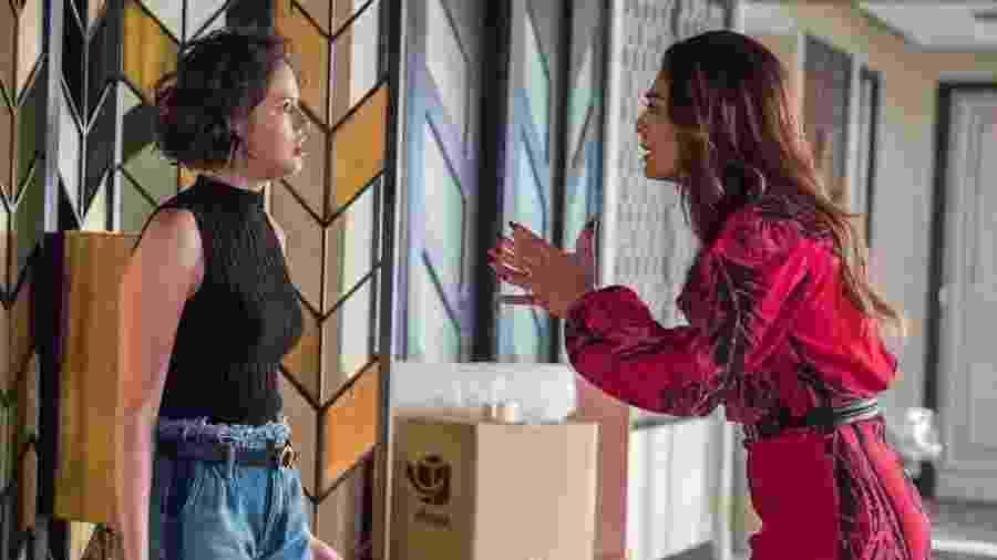 Maria da Paz e Josiane em A Dona do Pedaço -  Globo/Raquel Cunha