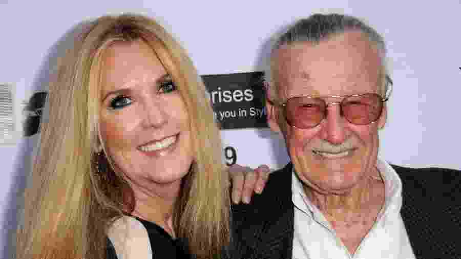 (19 de abril de 2012) J.C. Lee e o pai, o quadrinista Stan Lee  - Albert L. Ortega/Getty Images