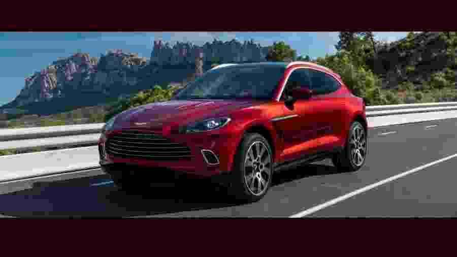 Aston Martin divulga primeira SUV de sua história  - Divulgação