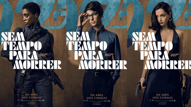 Cartazes oficiais de 007 - Sem Tempo Para Morrer - Jessica Quinalha/NBCUniversal