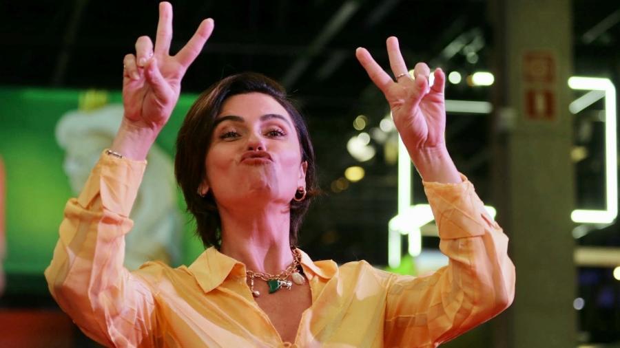 Giovanna Antonelli participou de painel da Globoplay no segundo dia da CCXP 2019 - Amauri Nehn/Brazil News