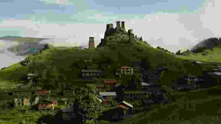 Parque Nacional Tusheti - Divulgação World Monuments Fund - Divulgação World Monuments Fund