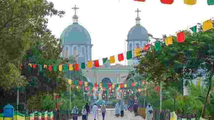 A Catedral Medhane Alem, em Addis Ababa, Etiópia - Getty Images