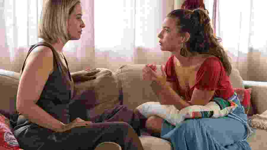 Filipe diz para Rita que precisa alertar Lígia - Globo/Estevam Avellar