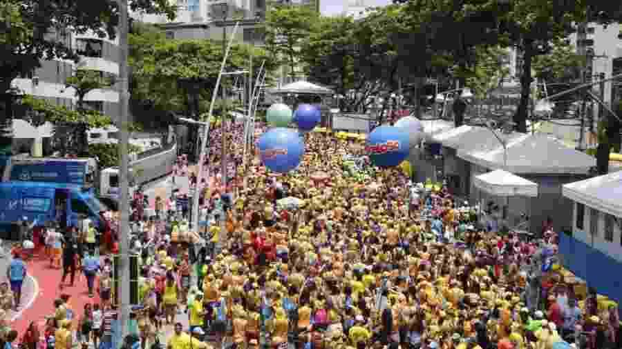 Gilmelândia arrasta multidão logo no começo do terceiro dia de Carnaval em Salvador - Fred Pontes/Divulgacão