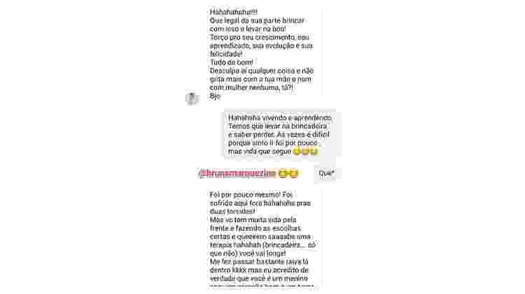 Bruna Marquezine responde brincadeira de Felipe Prior no Instagram - Reprodução/Instagram