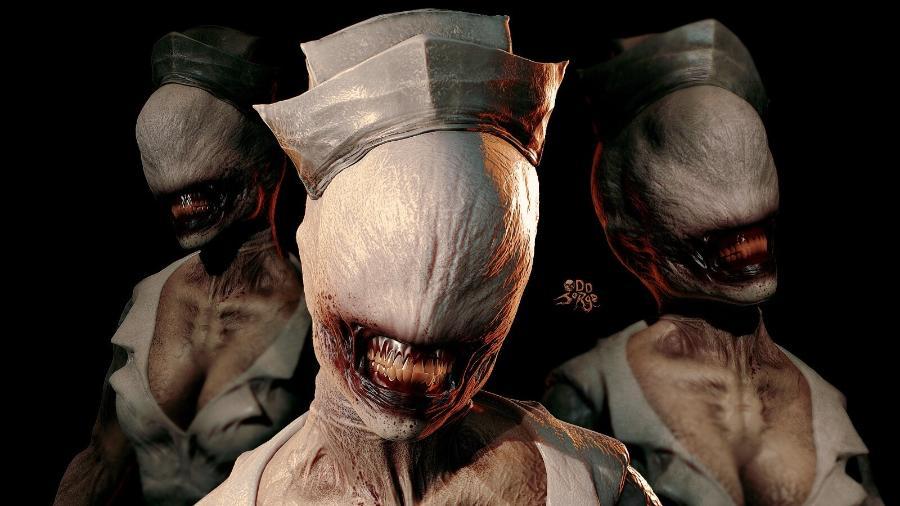 Silent Hill é uma grande inspiração para Odd Jorge - Arte/Odd Jorge