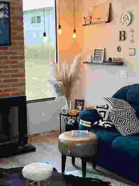 Sala de estar - Reprodução/Instagram - Reprodução/Instagram