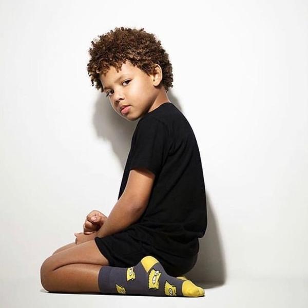 O rapper mirim João Bailly, filho de Mr. Catra