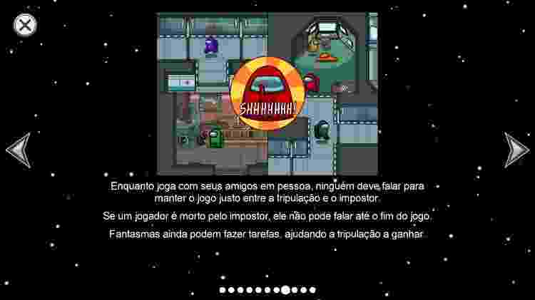 Among Us Silêncio - Daniel Esdras/GameHall - Daniel Esdras/GameHall