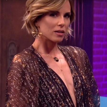 """Ana Furtado no """"Lady Night"""" - Reprodução/vídeo"""