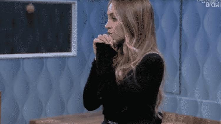 BBB 21: Carla cita Gleici no quarto secreto - Reprodução/Globoplay - Reprodução/Globoplay