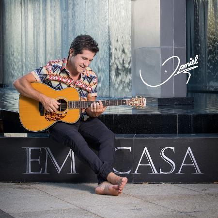 """Capa de """"Daniel em Casa"""", álbum que será lançado nesta semana - João Miguel Jr."""