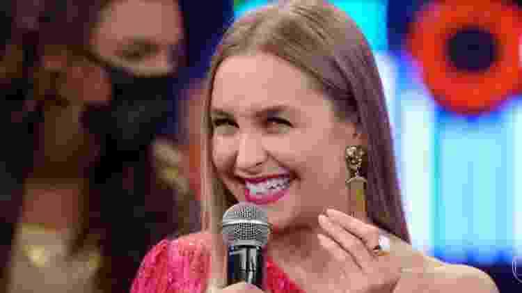 Carla Diaz no Faustão - Reprodução/Globoplay - Reprodução/Globoplay
